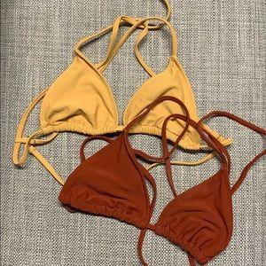 2 forever 21 Bikini tops, Small